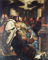 Anthony van Dyck The Holy Spirit's Descent