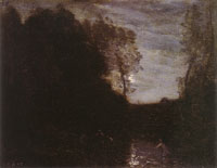 Camille Corot Moonlight