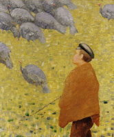 Charles Angrand The Turkey Herder