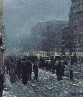 Childe Hassam Broadway and 42nd Street