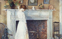 Childe Hassam In the Old House