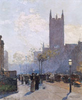 Childe Hassam Lower Fifth Avenue