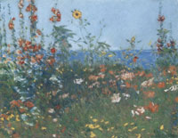 Childe Hassam Poppies, Isles of Shoals