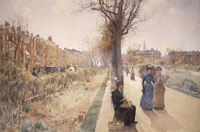 Childe Hassam The Public Garden (Boston Common)