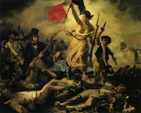Eugène Delacroix Liberty leading the people