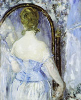 Edouard Manet Before the Mirror