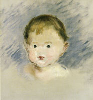 Edouard Manet Portrait of Julie Manet as a Baby