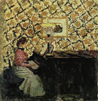 Edouard Vuillard Misia at the Piano