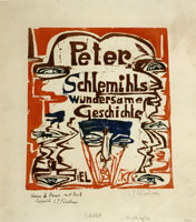 Ernst Ludwig Kirchner Peter Schlemihl's Wondrous Story: Title Plate