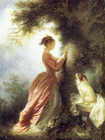 Jean-Honoré Fragonard - The Souvenir