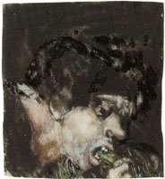 Francisco Goya Man Eating Leeks