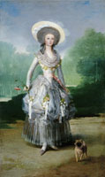 Francisco Goya The Marchioness of Pontejos
