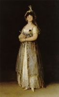Francisco Goya Queen Maria Luisa in Court Dress