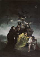Francisco Goya The Spell