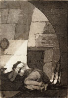 Francisco Goya Woman in Prison