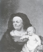 Franz Wulfhagen Old Woman with a Child