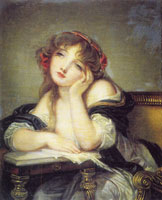 Ascribed to Jean-Baptiste Greuze The Letter Writer