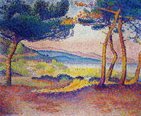 Henri-Edmond Cross Pines Along the Shore