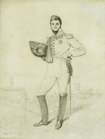 Jean Auguste Dominique Ingres - General Louis-Étienne Dulong de Rosnay