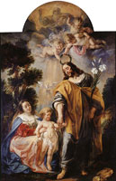 Jacob Jordaens The coronation of Saint Joseph