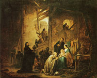 Jacob de Wet - The adoration of the Magi