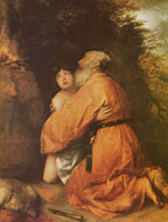 Jan Lievens Abraham and Isaac