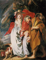 Jacob Jordaens The Return of the Holy Family from Egypt