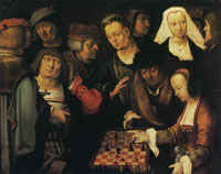 Lucas van Leyden The Chess Game