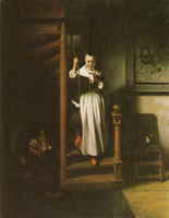 Nicolaes Maes The eavesdropper