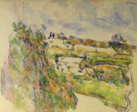 Paul Cézanne Chemin des Lauves: The turn in the road