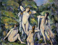 Paul Cézanne Four bathers