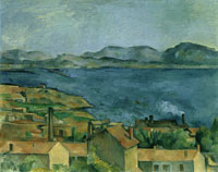 Paul Cézanne The Gulf of Marseille seen from L'Estaque
