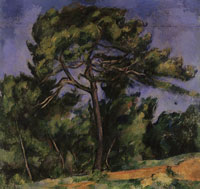 Paul Cézanne The large pine