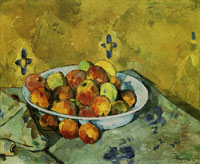Paul Cézanne The plate of apples