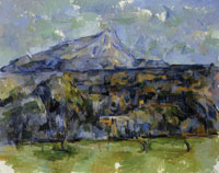 Paul Cézanne Montagne Sainte-Victoire seen from Les Lauves