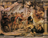 Peter Paul Rubens The meeting of Abraham and Melchizedek