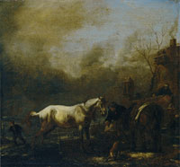 Philips Wouwerman The Gray Horse