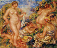 Pierre-August Renoir Bathers