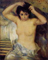 Pierre-August Renoir Before the Bath