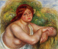 Pierre-August Renoir Bust of Nude