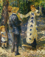 Pierre-Auguste Renoir The Swing