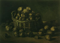 Vincent van Gogh Basket of potatoes