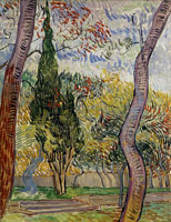 Vincent van Gogh Park of the Asylum at Saint-Rémy