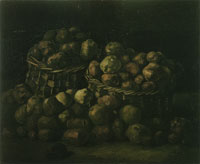 Vincent van Gogh Baskets of potatoes