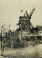 Vincent van Gogh The Blute-Fin Mill