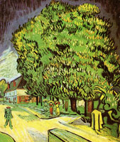 Vincent van Gogh Chestnut Trees in Blossom