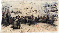 Vincent van Gogh Dance Hall