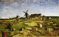Vincent van Gogh - The Hill of Montmartre