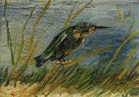 Vincent van Gogh The Kingfisher