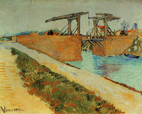 Vincent van Gogh The Langlois Bridge near Arles